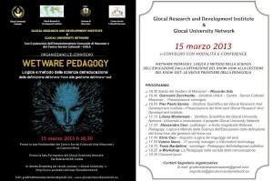 """""""Wetware pedagogy. Logica e metodo della scienza dell'educazione dalla definizione del know-how alla gestione del know-out. Le nuove frontiere della pedagogia""""."""
