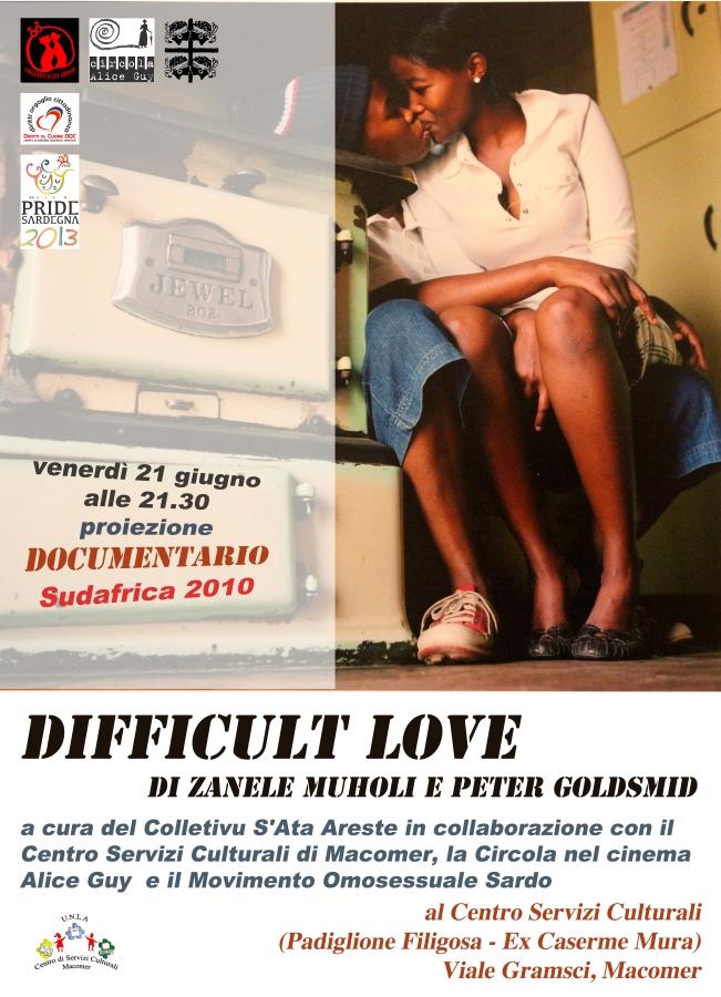 """The difficult love"" di Zanele Muholi"