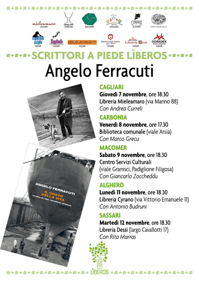 """Presentazione libro """"Il Costo della vita"""" di Angelo Ferracuti"""