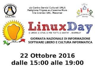 Linux Day al Centro! 22 Ottobre dalle ore 15