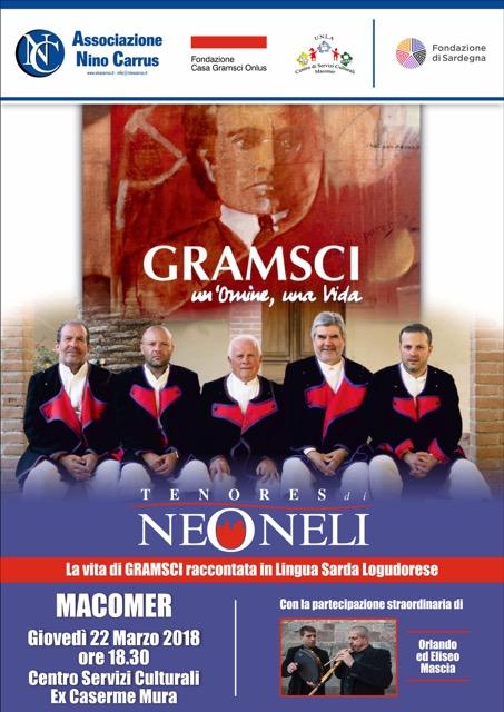 """""""Gramsci. Un'omine, una vida"""" Giovedì 22 Marzo ore 18:30"""