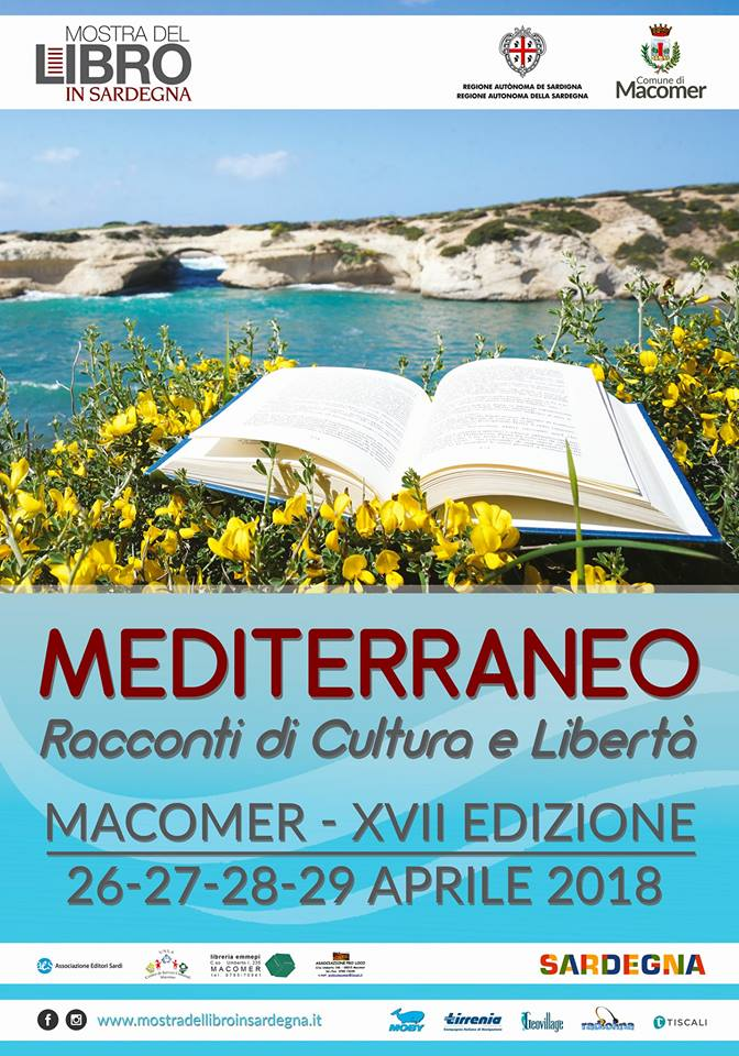 XVII Mostra del Libro in Sardegna – Macomer 26, 27, 28, 29 aprile 2018