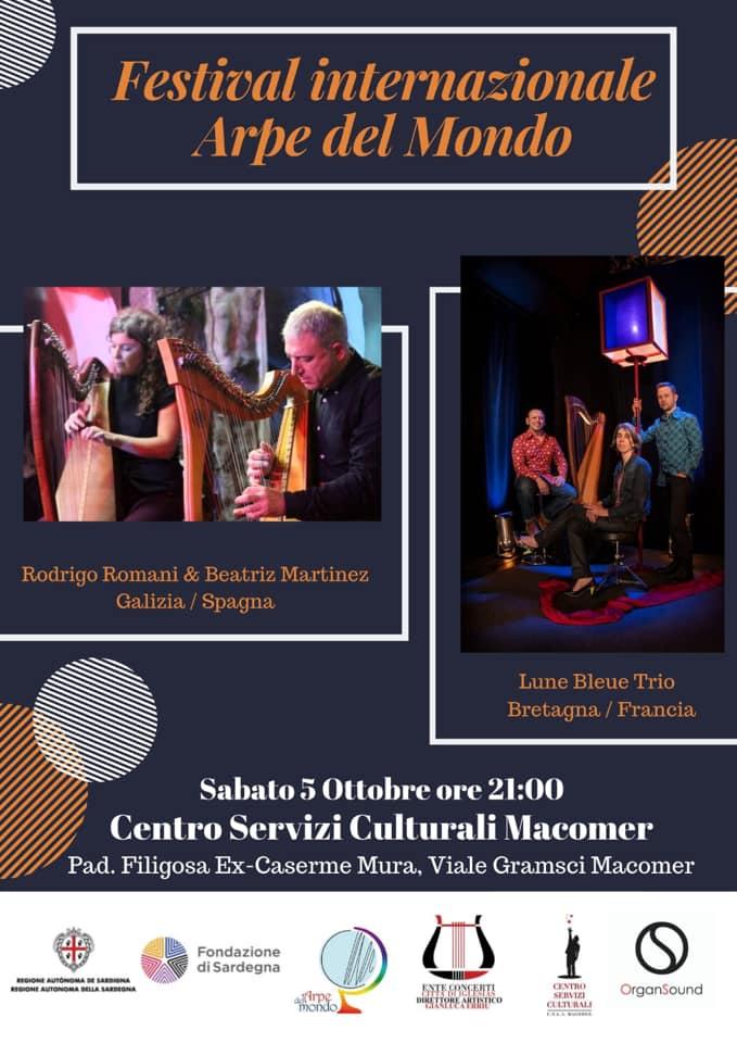 Festival Internazionale Arpe del Mondo. 5 Ottobre ore 21.