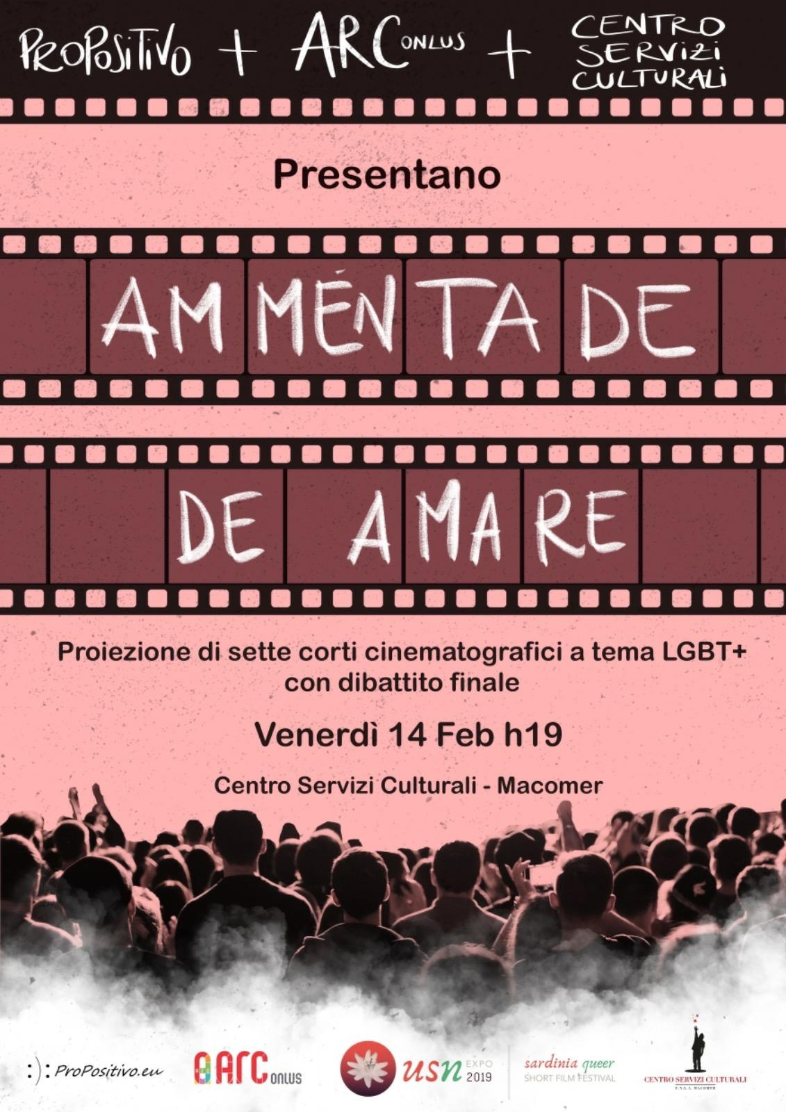"""Ammentade de Amare"" Venerdì 14 Febbraio ore 19:00"