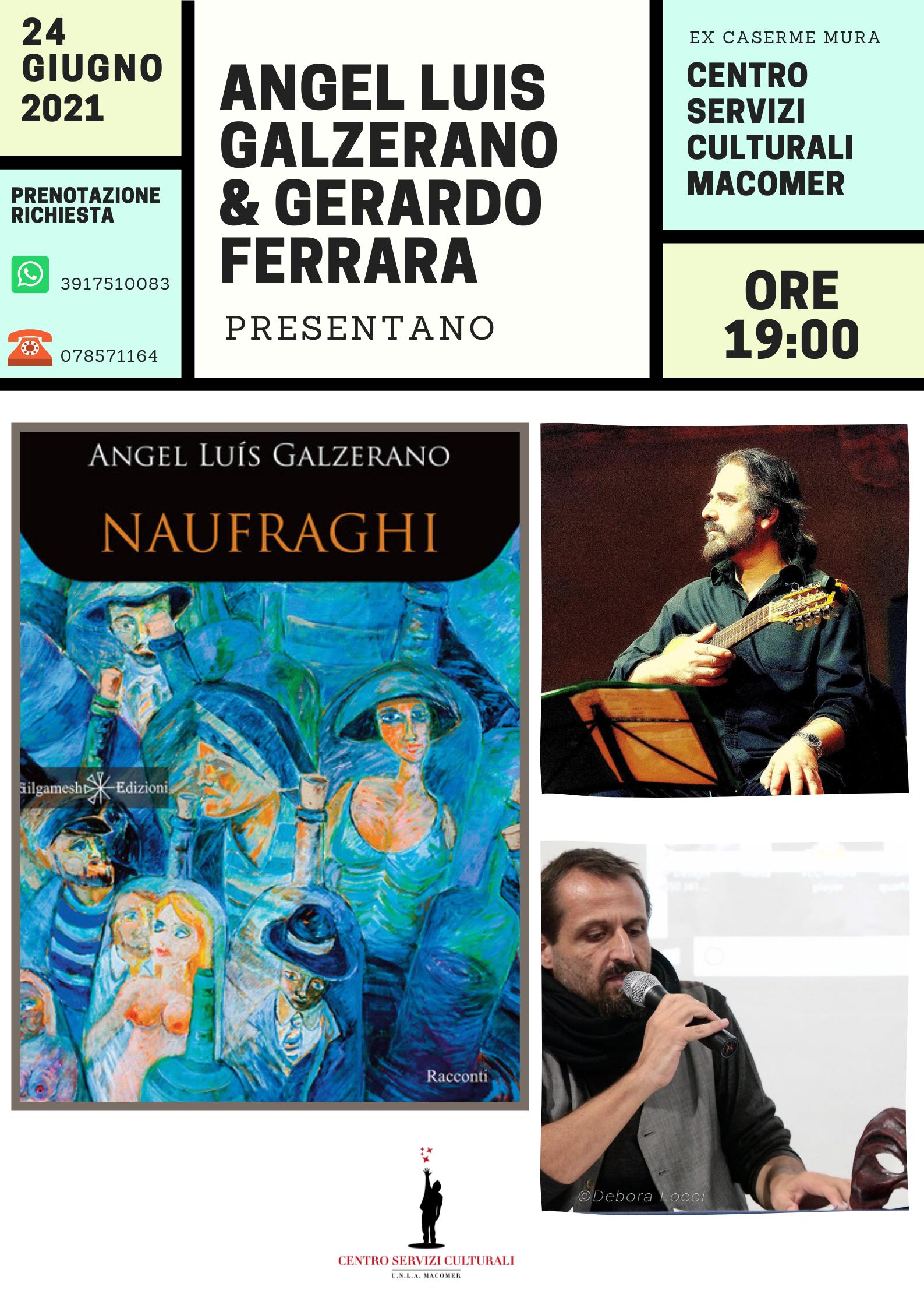 """Presentazione del libro""""Naufraghi"""""""