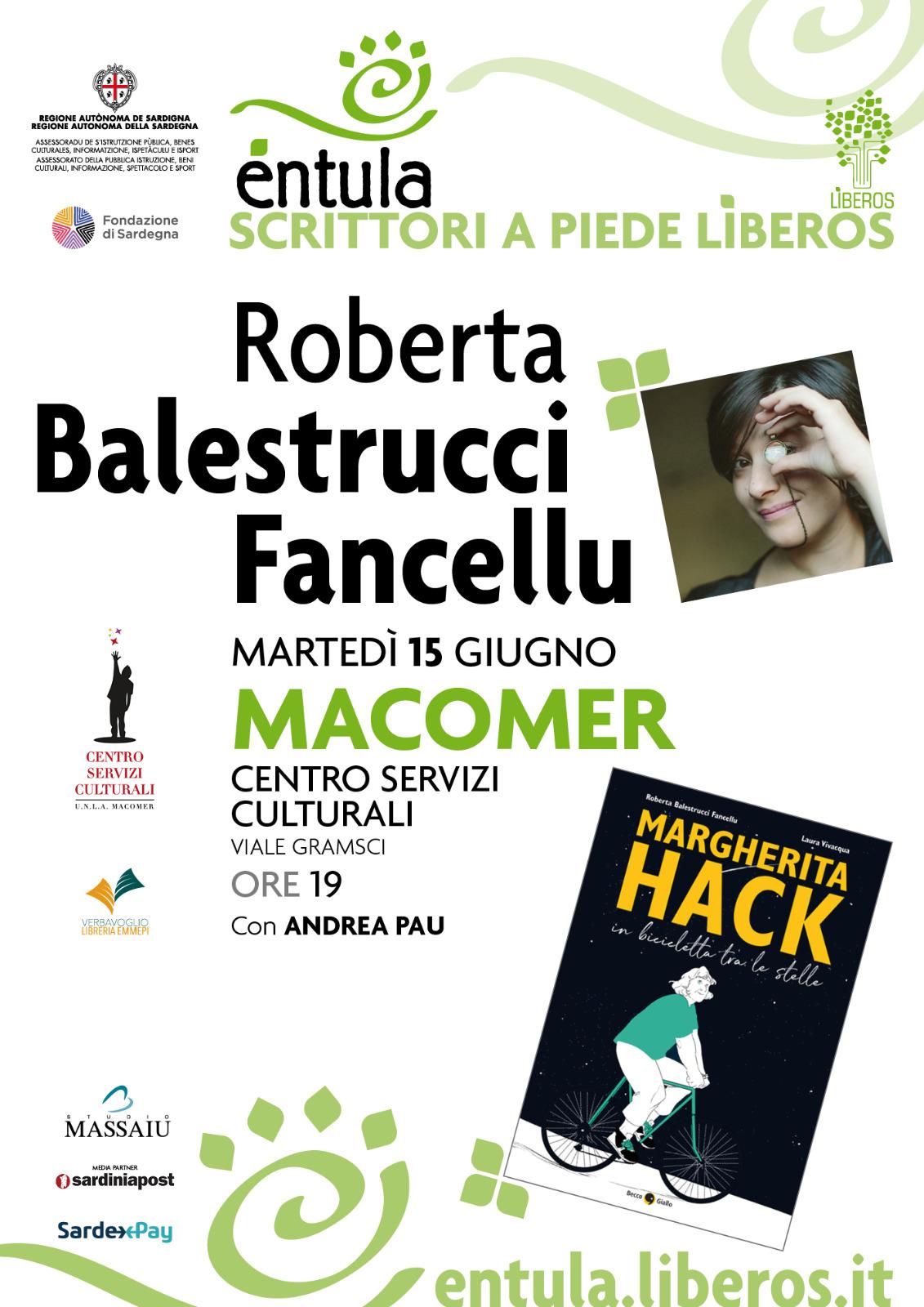 """""""Margherita Hack. Una Bicicletta tra le stelle"""" di Roberta Balestrucci Fancellu"""